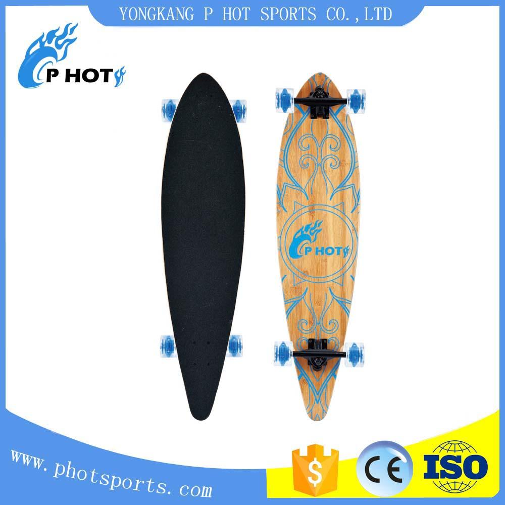 40 inch skateboard 9 layer Chinese Maple mini long board skate board skateboard wheel custom