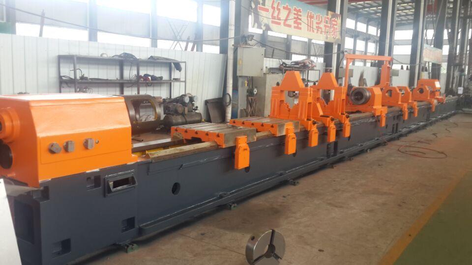 BTA deep hole drilling and boring machine
