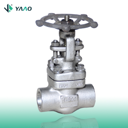 API Forged Gate Valve, CL 150 to 2500, NPT or SW