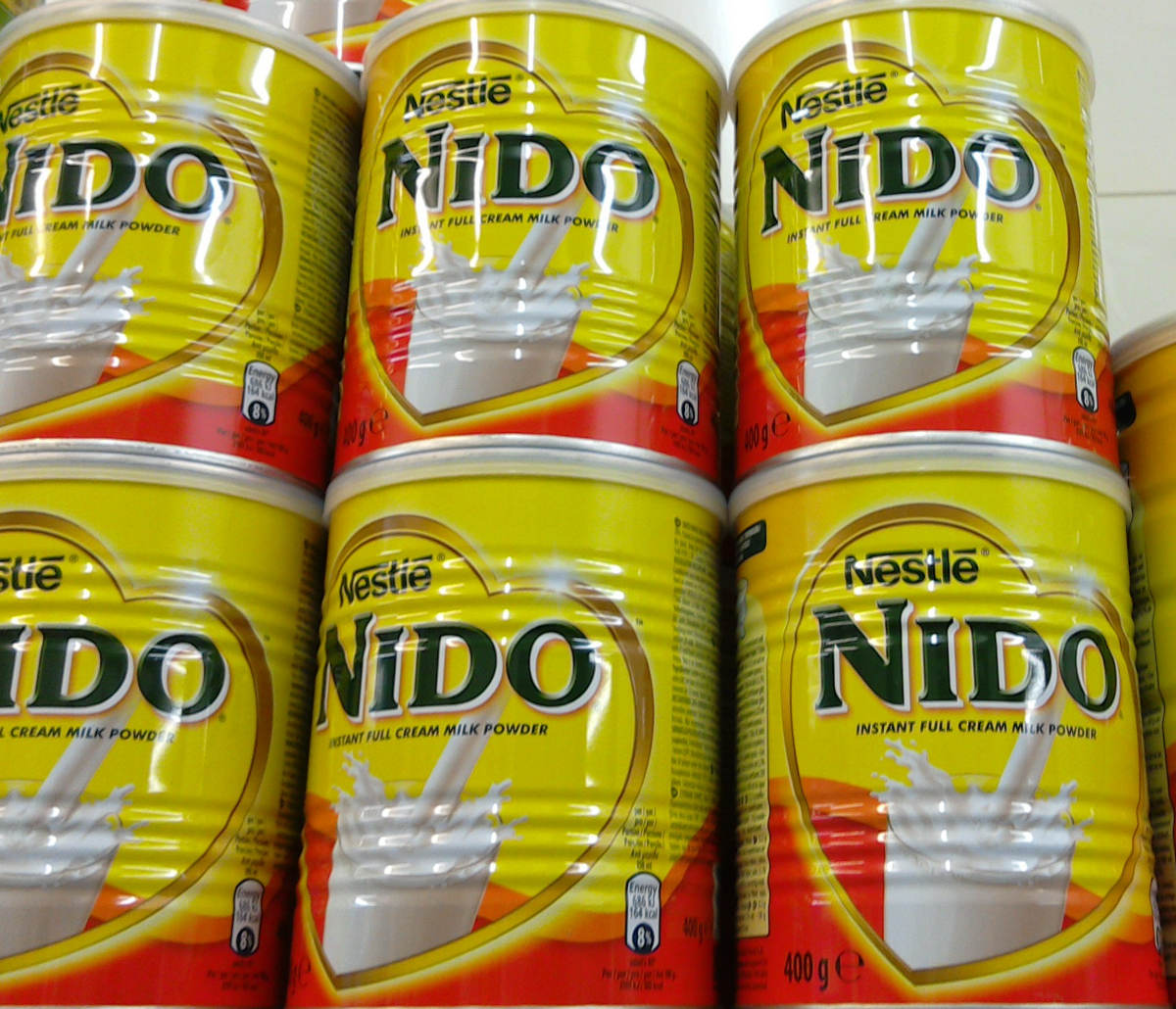Red Cap Nido Milk from Holland