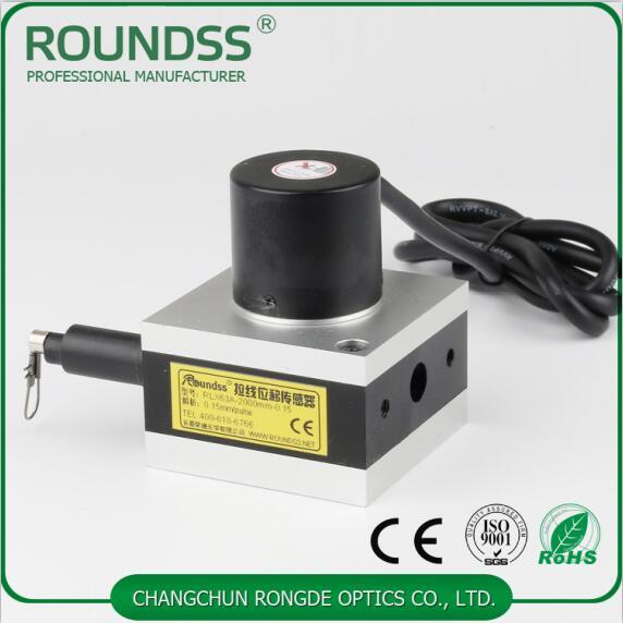 0-1000mm range DC 24V Digital Pull Wire Linear Encoder