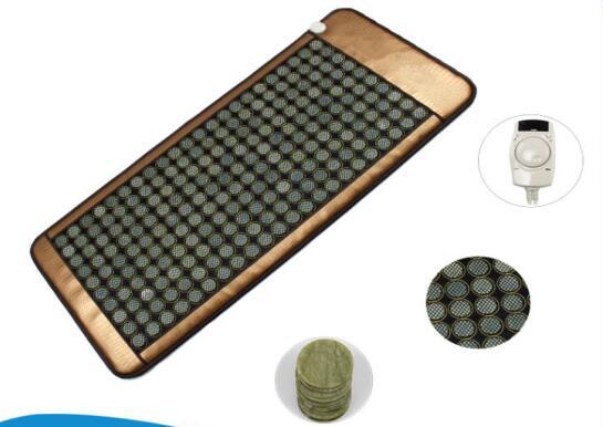 Health care Nugabest&Ceragem similar cheap price back support massage jade heating bed mattress mat