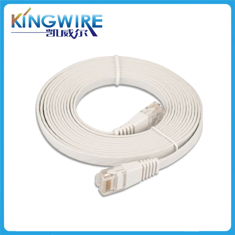 3FT FLAT CAT6E Cable high speed good quality 1m Ethernet Lan Network Cat6