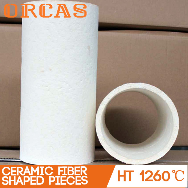 Orcas vacuum formed special shaped ceramic fiber riser sleeves
