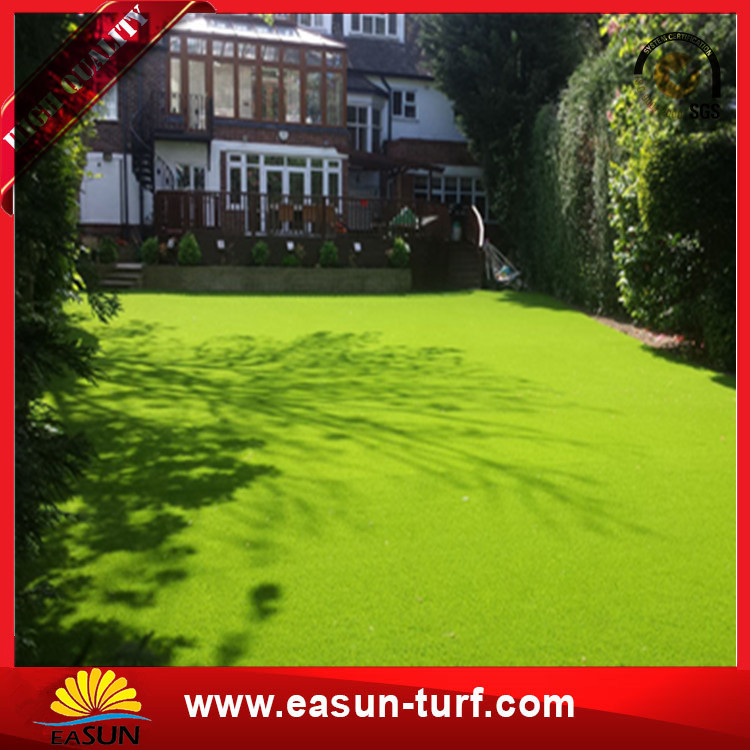 Natural looking UV resistence artificial grass for residential garden landscaping-Donut