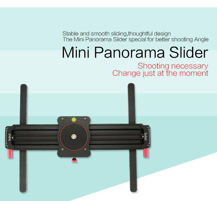 Camera mini manual track slider follow focus camera video slider for camera shooting GT-MN80