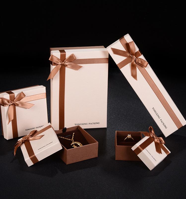 ZHIBO Wholesale Fashion Jewelry Luxury Paper Box