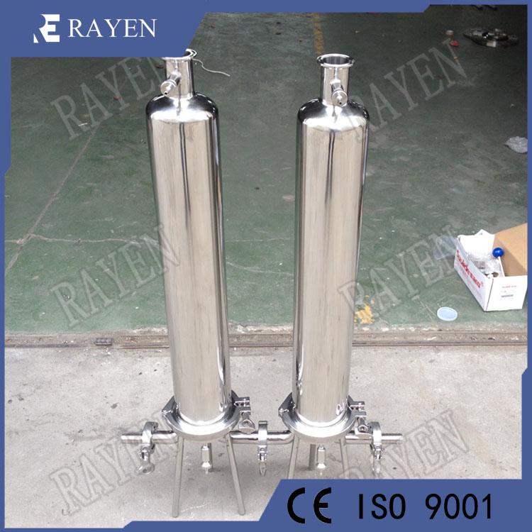 SUS304 Sanitary Liquid Filter Housing Cartridge Filter Housing