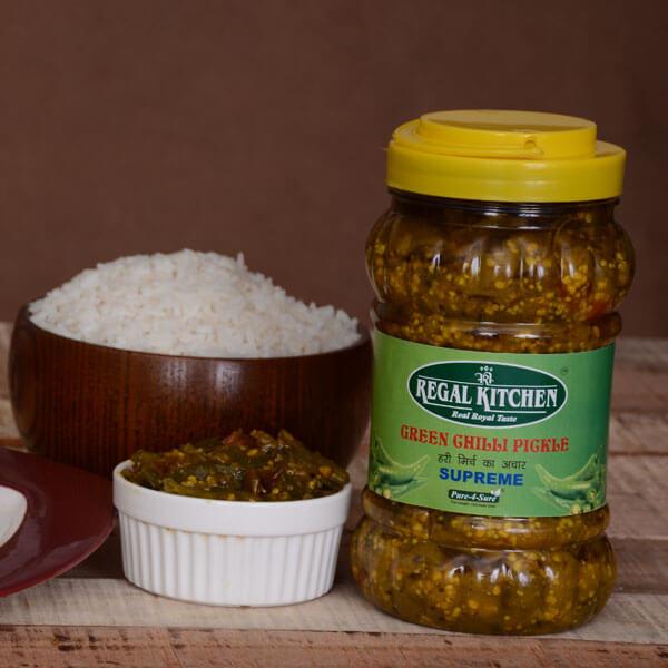 Green Chilli Pickle - Supreme