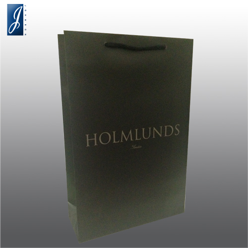 Customized medium shopping bag for HOLMLUNDS