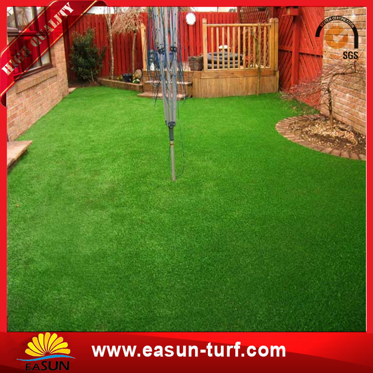 Good price landscaping artificial green carpet grass-Donut
