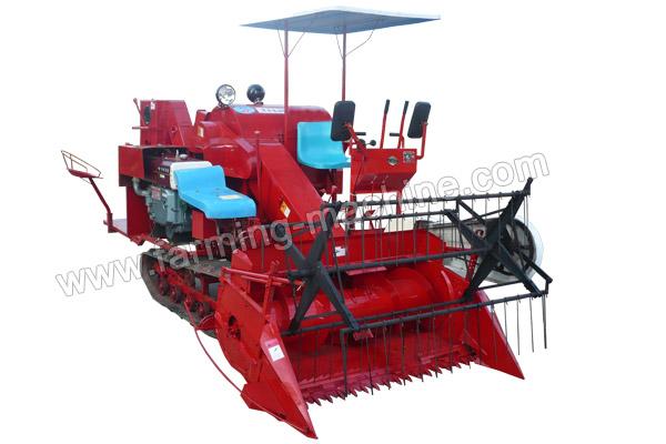 Combine Paddy Harvester