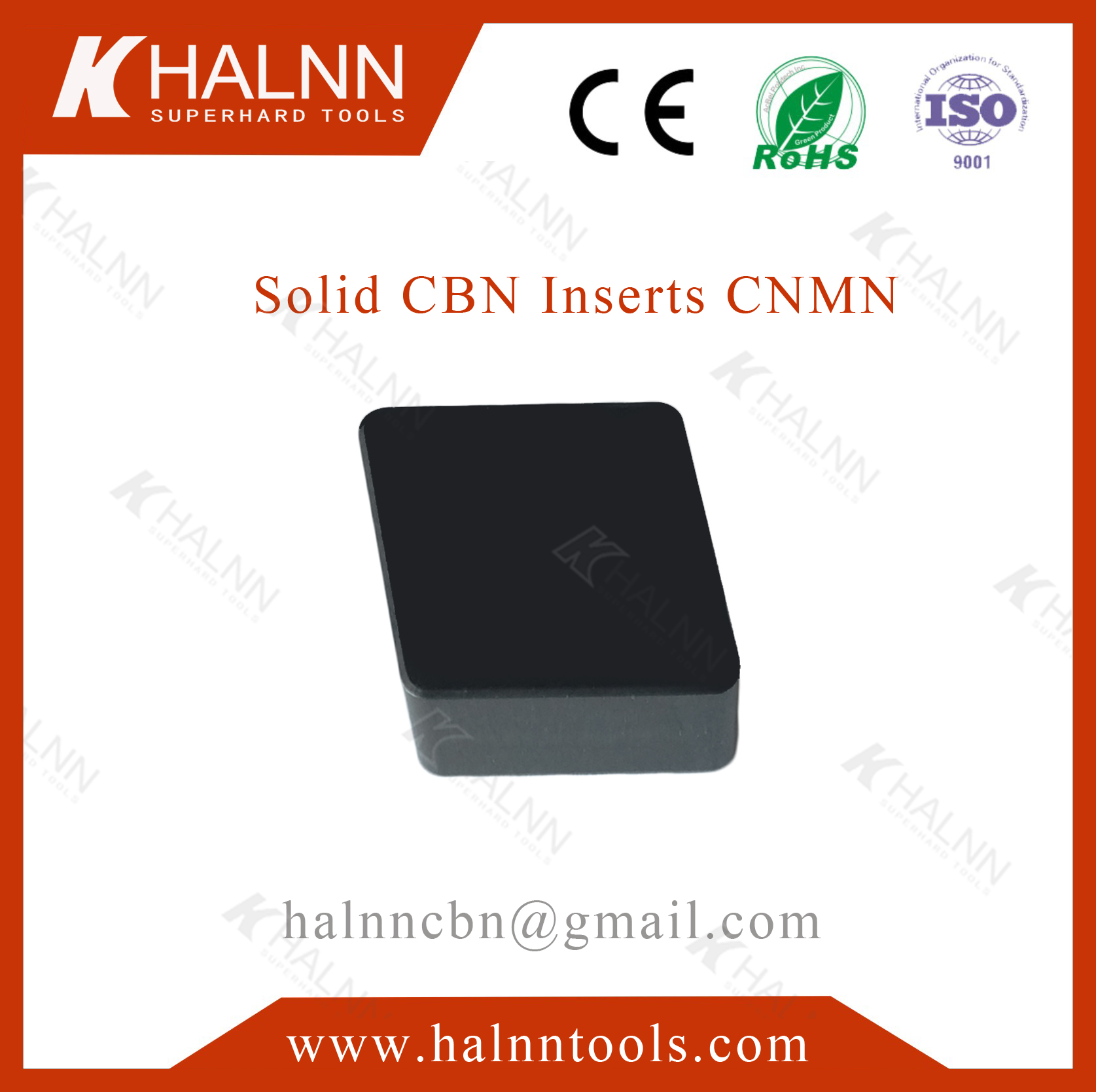 CBN insert BN-S30 for processing brake drum
