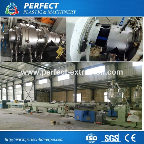 Hot Sale HDPE Pipe Production Line- PE Pipe Extrusion Machine- Plastic Pipe Extruder