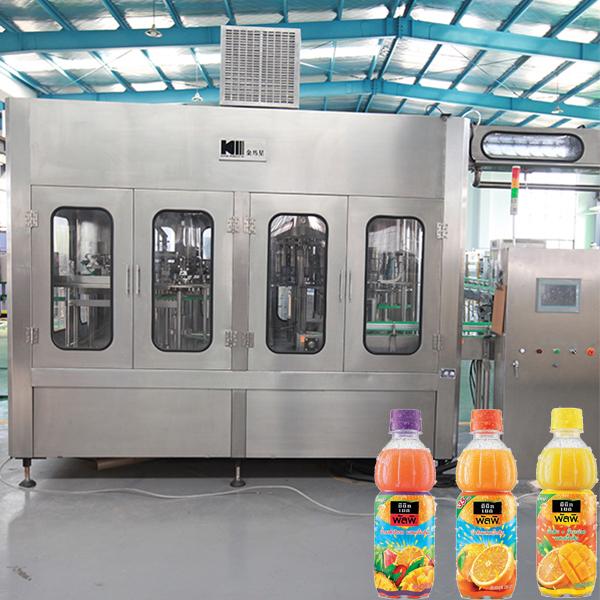Complete Fruit Juice Processing Line / Drink Production Line / Juice Filling Machine