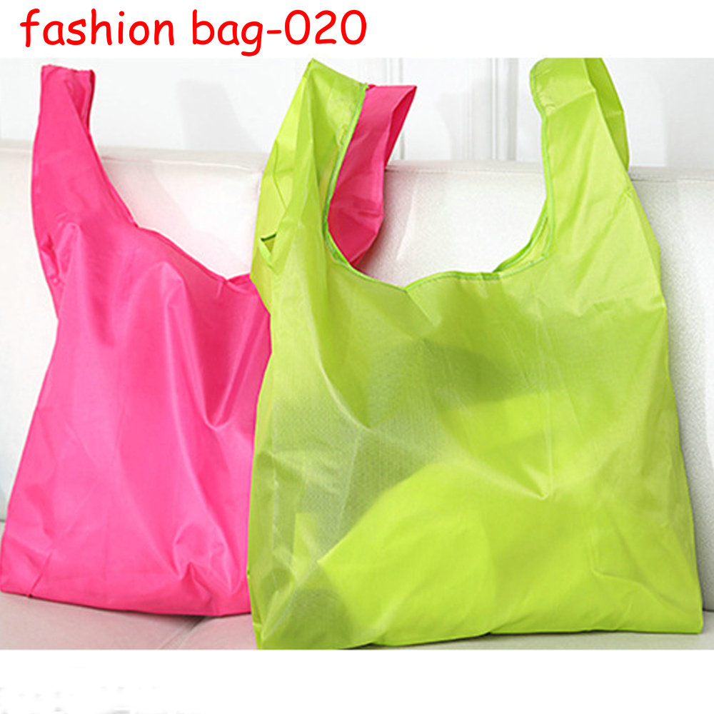 Promotional Eco-friendly Recycle Portable Waterproof Folding Shopping Bags