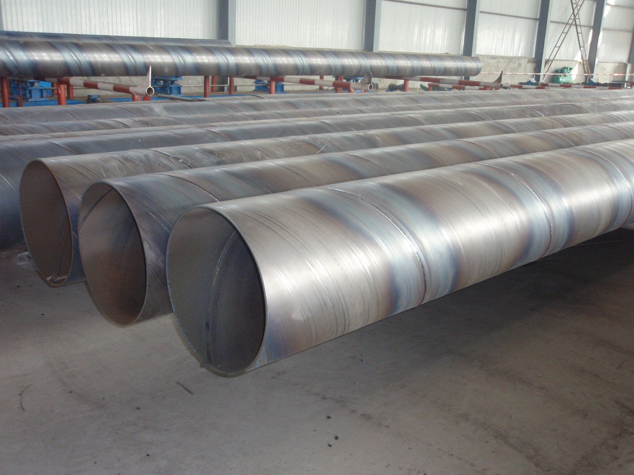 SAW Spiral Welded Steel Pipe