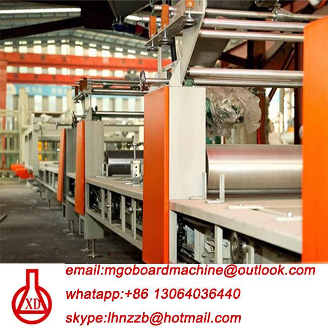 mgo panel forming machine line