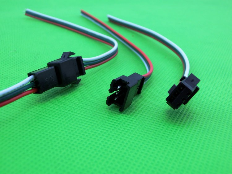 JST 3Pin SM connector 3Way Multipole Connector cable plug With wire ternimal male and female set