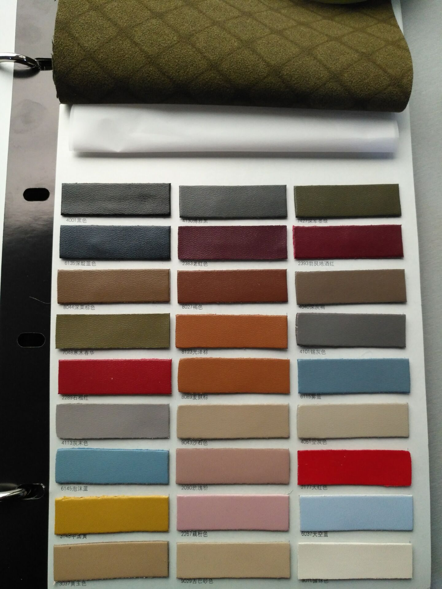 Super Finished Double Fabrics Synthetic Leather for Casual Bags, Wallet T979