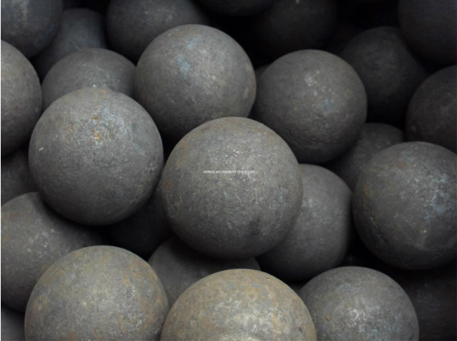 HRC60+ forged steel grinding media balls