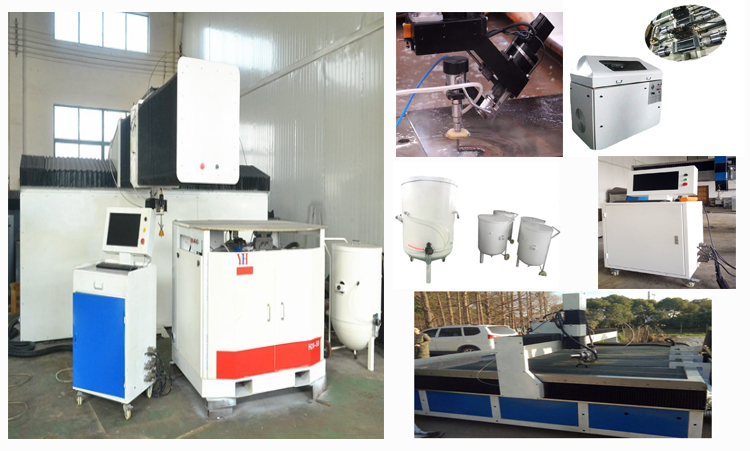 waterjet cutting machine for marble/granite/glass/steel ect.cutting