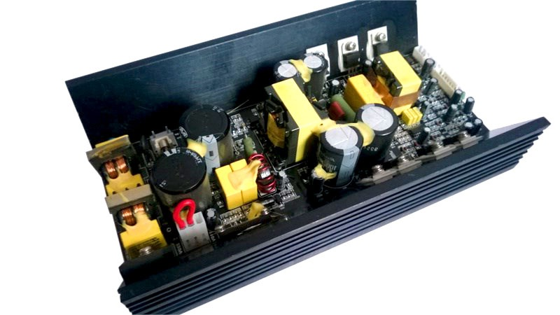 400W 8ohm Mono High Stability CLASS D Amp Interagrated with High Efficiency SMPS