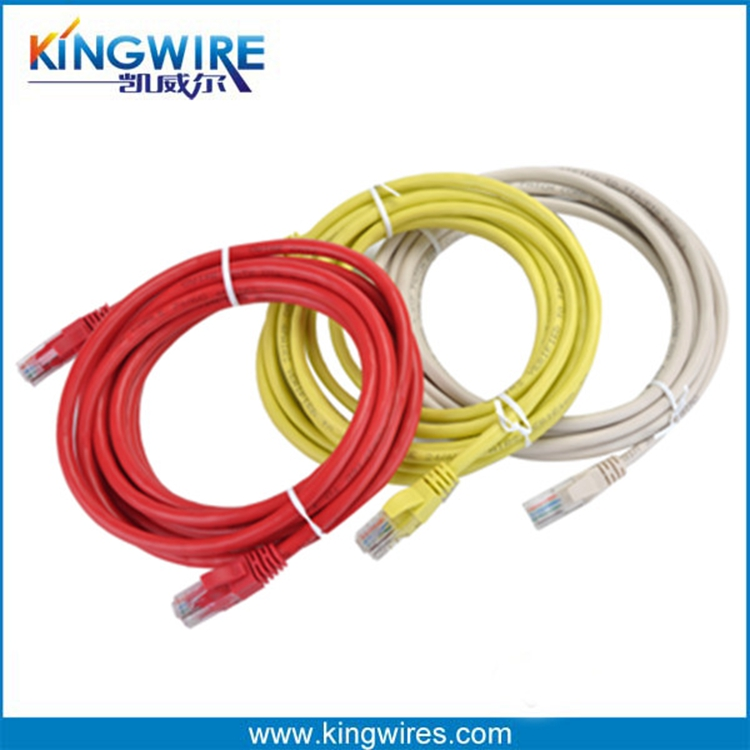 Shenzhen Round/Flat Cat6 RJ45 Patch Cord Ethernet Cat5e Network Cable