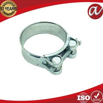 Material W1 W2 W4 Heavy duty unitary hose clamp