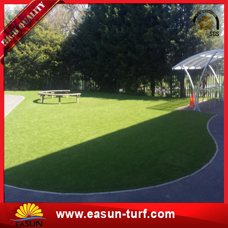 Landscaping synthetic turf China supplier artificial grass mats for garden-Donut