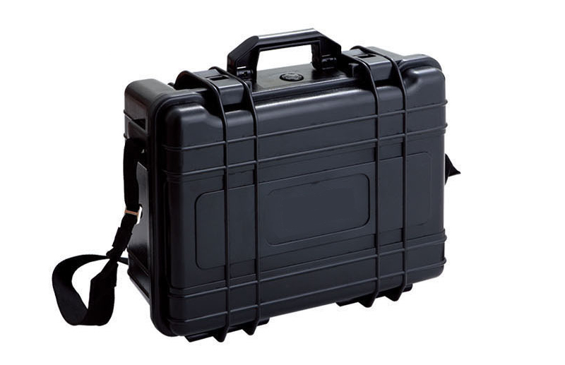 Portable 4-channel receiving box,industrial mobile video receiver,COFDM transmisson equipment