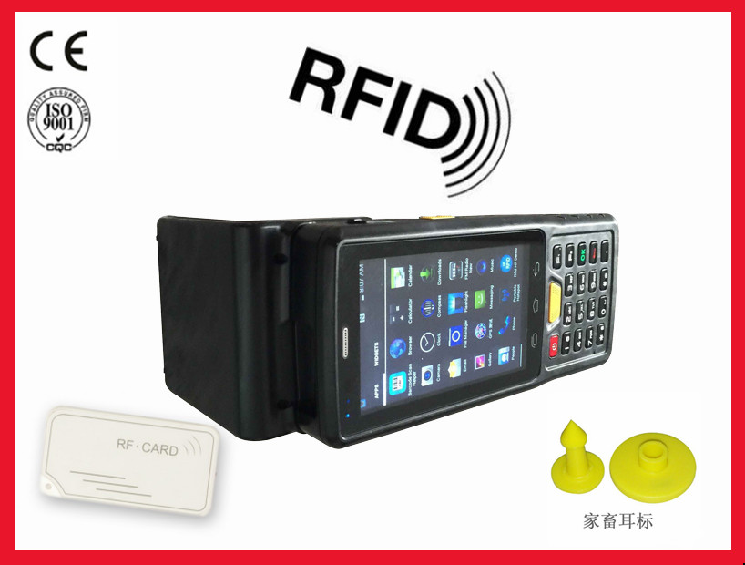 ST907V7.0 4 inch Android PDA with LF/ NFC/ UHF RFID Reader