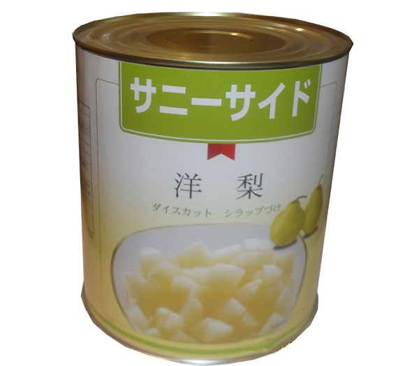 High quality canned pear of safe and healthy food FX-NX-03
