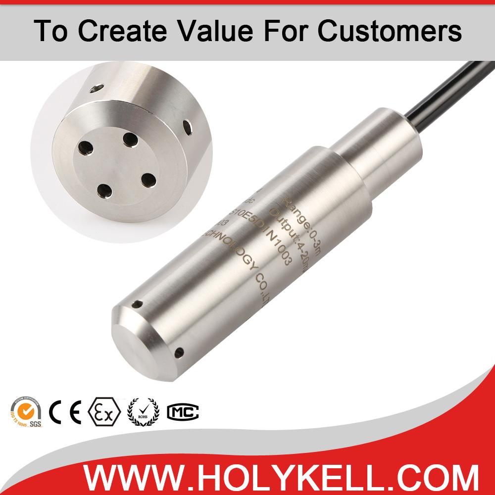 HPT604 RS485 0-5V 4-20Ma Diesel Fuel Level Sensor,Fuel Tank Level Sensor