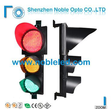 300mm+200mm 3-aspect traffic signal light