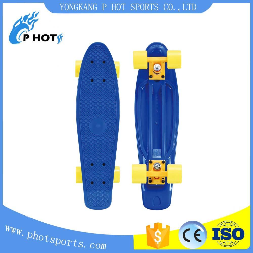 22 inch plastic PP fish board penny board skate board Sport Skateboard