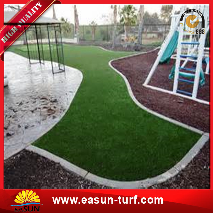 11000 Dtex synthetic grass lawns customized artificial grass turf-Donut