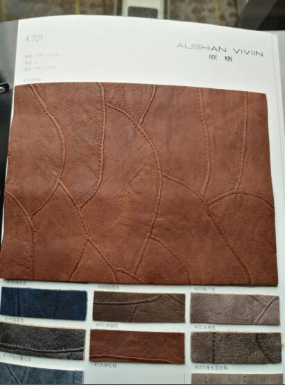 2017 New Design PU Leather for Handbags & Casual Bags K701