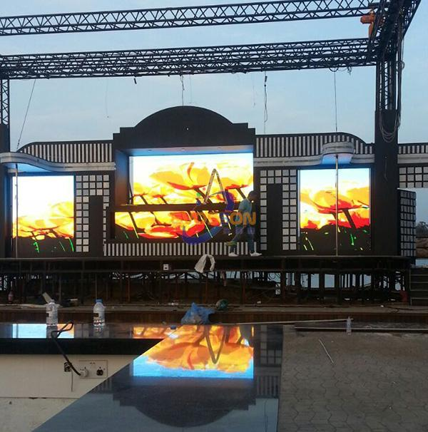 SMD P6 outdoor modules / display / screen full colour
