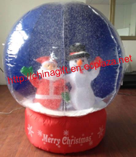 1.2 Meter Air Inflatable Christmas Snow Globe