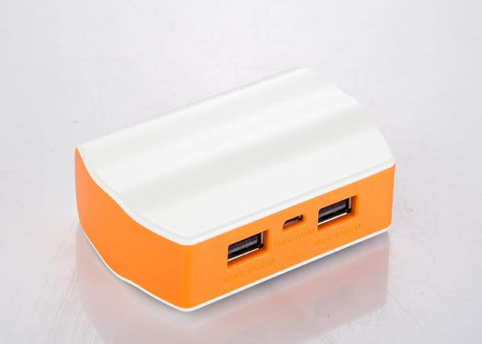 Shenzhen supplier famous brand external mobile 5200mah manual power bank