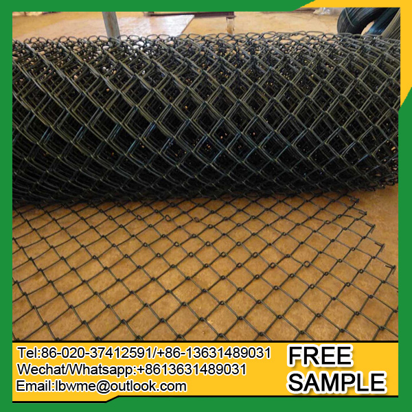 USA chain link fencing wire mesh panel diamand fence factory price