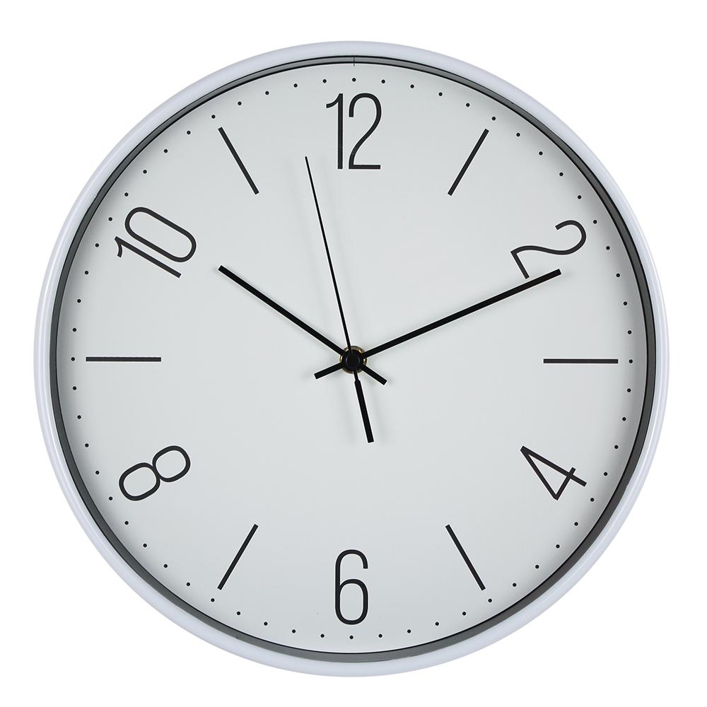Modern Style 30cm New Plastic Wall Hanging Clock