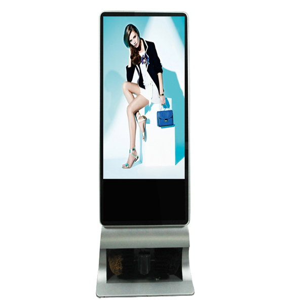 43 inches 55 inches HD electric shoe shining display