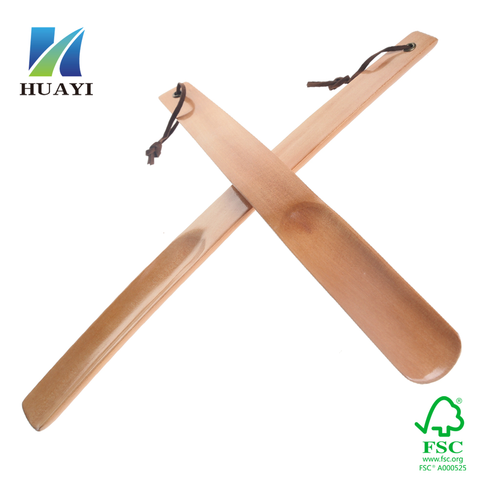 wholesale high quality wooden shoe horn