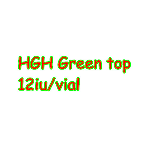 HGH Green Top 12iu Growth Hormone peptide