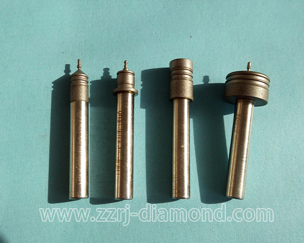 Customized products electroplated diamond grinding head mounted points