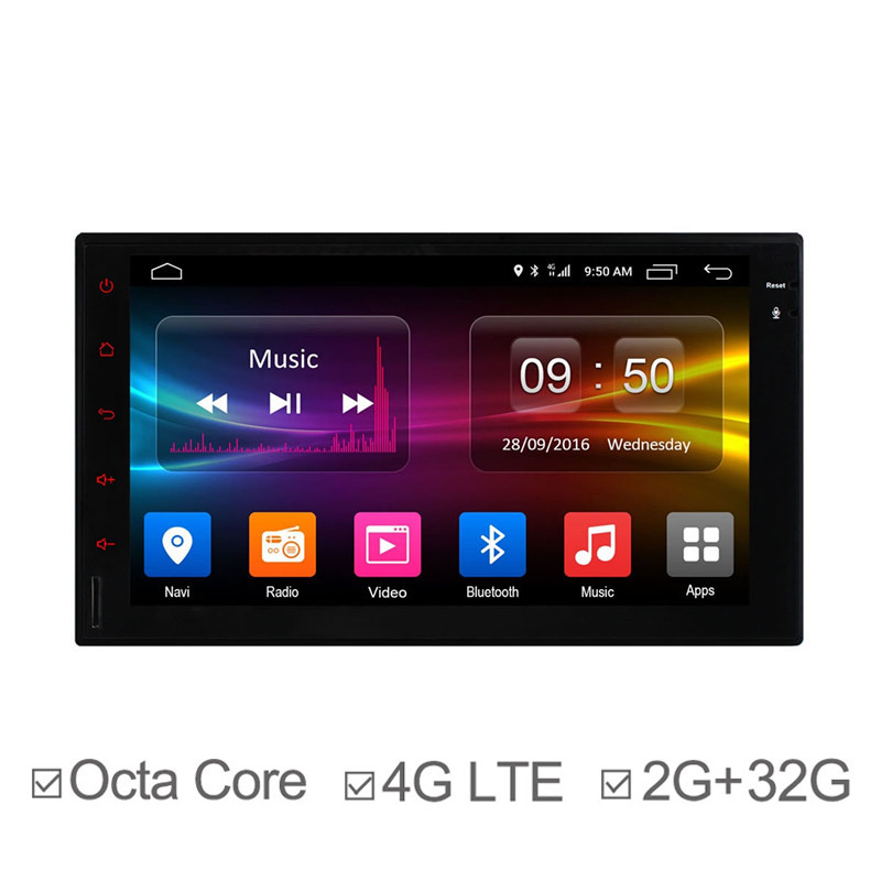 7Inch Octa Core Auto DVD GPS Navigation for Universal