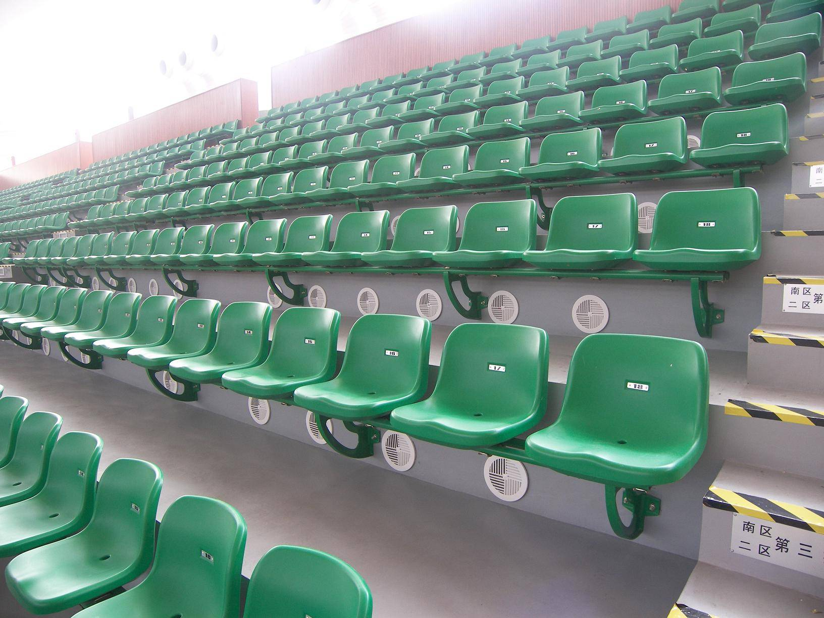 outdoor anti fading stadium chair spectator seating au nce seat
