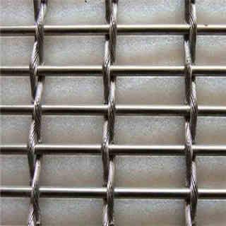 Decorative Metal Wire Mesh Facade Cladding